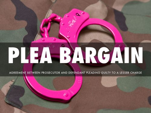 Examining Plea Bargain Under The Administration Of Criminal Justice ACT 2015