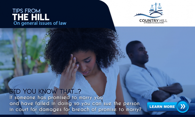 Breach Of Promise To Marry – Hear what the Law has to say!