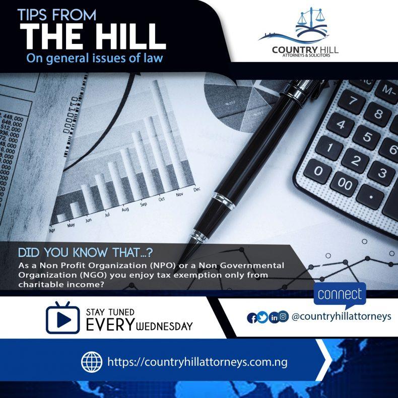 Income Tax Exemption Non-Governmental Organization
