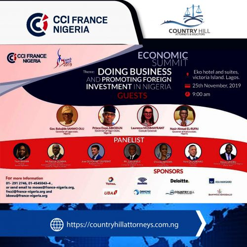 ECONOMIC SUMMIT: DOING BUSINESS AND PROMOTING FOREIGN INVESTMENT IN NIGERIA